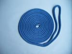 "3/8"" X 15' NYLON DOUBLE BRAID DOCK LINE - BLUE"